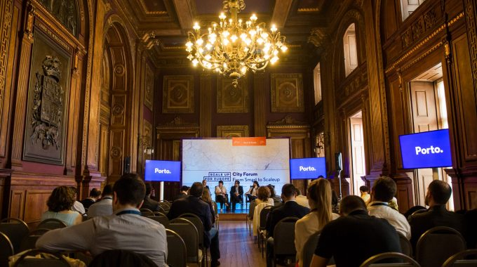 ScaleUp For Europe From The World To Porto, From Porto To The World