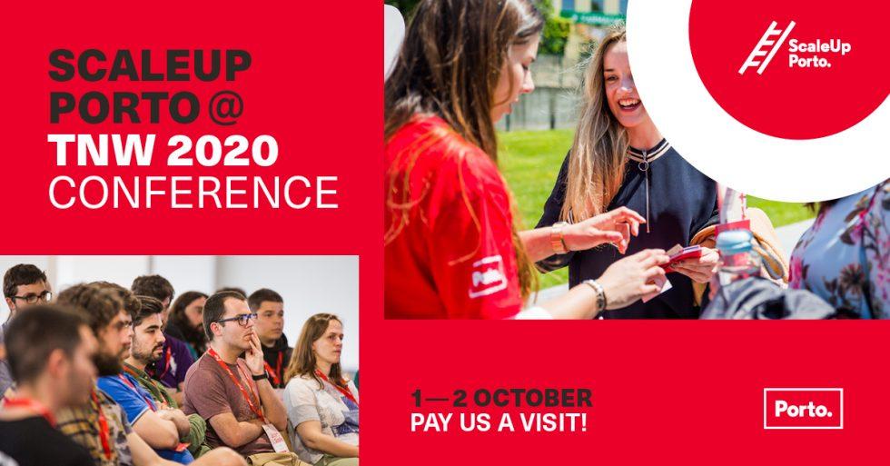 ScaleUp Porto Promove O Ecossistema Tecnológico Da Cidade Na TNW Conference 2020